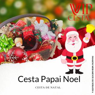 12 – Cesta de Natal bh Papai Noel