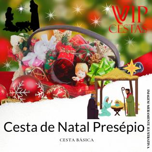 11 – Cesta de Natal bh Presépio