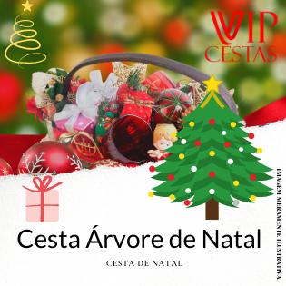 21- Cesta de Natal Presente – Árvore de Natal