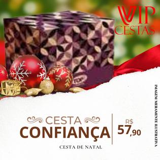 23 – Cesta de Natal preço Confiança